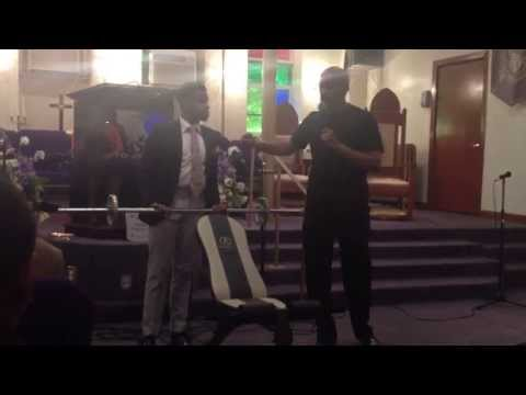 "Institutional COGIC Int. - Assistant Pastor Austin C. Williams - ""The Benefit Behind The Pain"""