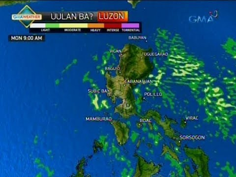 24 Oras: Weather update as of 5:35 p.m. (June 24, 2018)