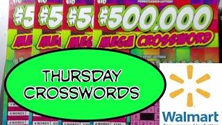 Thursday Crosswords.  Walmart …