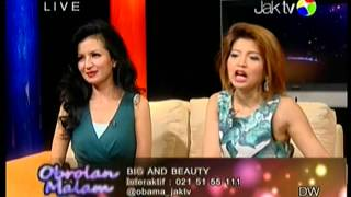 "Obrolan Malam ""Big And Beauty"" - JAK TV Part 2"