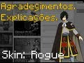 [Speed- Art]~[Fairy Tail] Agradecimentos e Explicação / Minecraft skin Maker #13 - Rogue Cheney
