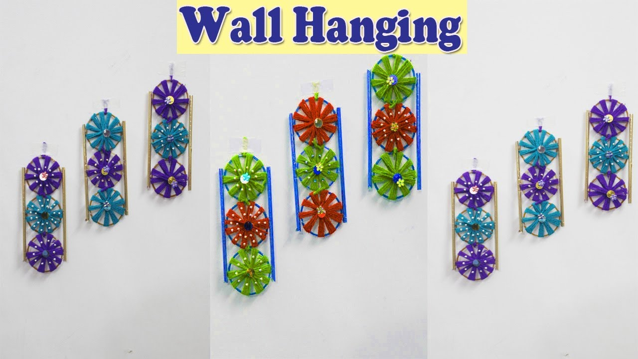 Diy Wall Hanging Decor From Old Waste Bangles Bengals