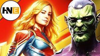 Captain Marvel NEW Skrulls & Hala Footage Description Revealed