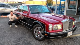 BUYING THE CHEAPEST ROLLS ROYCE IN THE WORLD!