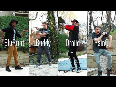 BluPrint   Droid   RainO   BuddyLove   JUSMOVE Freestyle!
