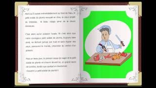 Le Petit Soldat de Plomb, des classiques histoires courtes en français. Childtopia contes