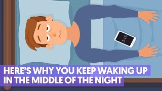 Why You're Waking Up At the Same Time Every Night