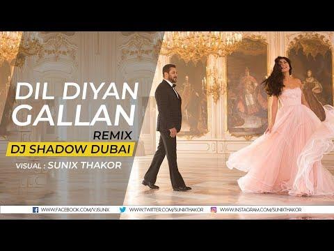Atif Aslam  Dil Diyan Gallan Remix  Dj Shadow Dubai  Sunix Thakor