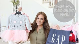 BABY GIRL AND TODDLER BOY HAUL