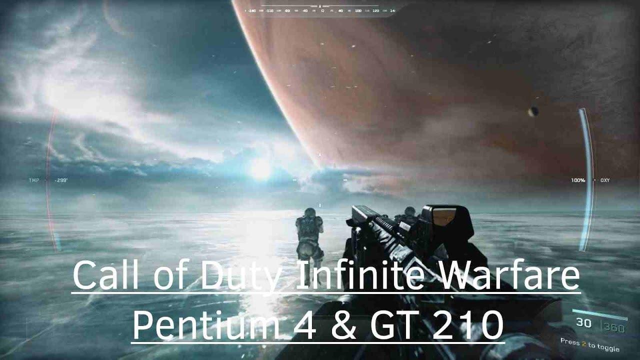 Top page gt gt infinite - Call Of Duty Infinite Warfare On Directx10 Gpu Nvidia Geforce Gt 210 Pentium 4