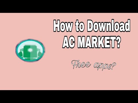 HOW TO DOWNLOAD AC MARKET | TAGALOG TUTORIAL