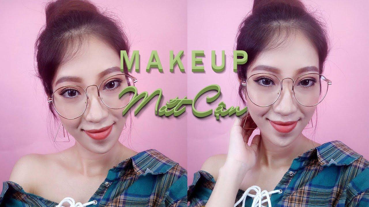 Trang Điểm Cho Nàng Mắt Đeo Kính Cận – Makeup With Glasses [Vanmiu Beauty]