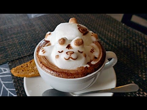 Thumbnail: INCREDIBLE 3D COFFEE ART - CUTEST COFFEE YOU'LL EVER SEE! Lion, Cat, Panda, Sleeping Bear
