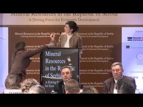 Serbia's mining deposits and new projects - Teodora Dechev