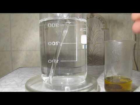 Iron ore, hydrochloric acid and nitric acid / Железная руда, соляная кислота и азотная кислота