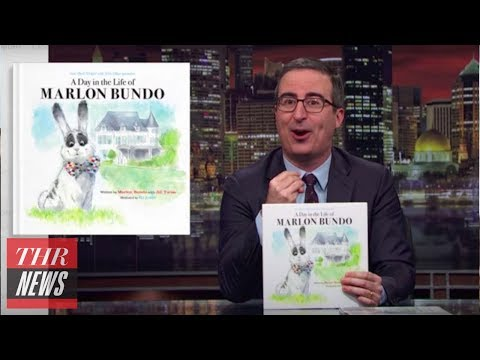 John Oliver's Parody Children's Book Challenges Pence's Views on LGBT Rights | THR News