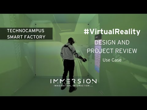 CIRV, Industrial Virtual Reality Centre - Technocampus Smart Factory