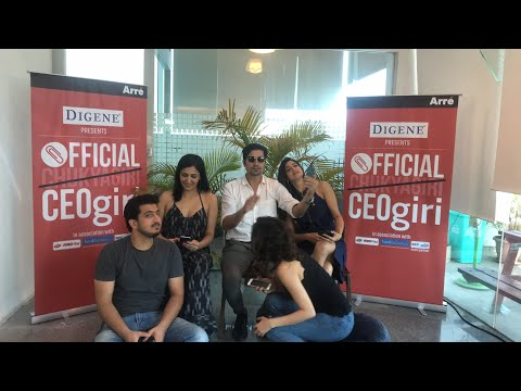 Live chat with the cast of Official CEOgiri | Episode 1 streams on Mar 19