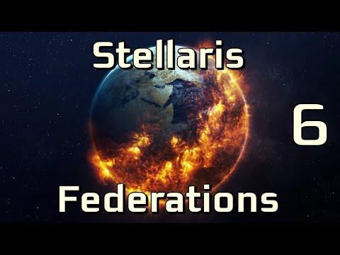 Stellaris (Federations) - Кто из землян переживет Судный День?