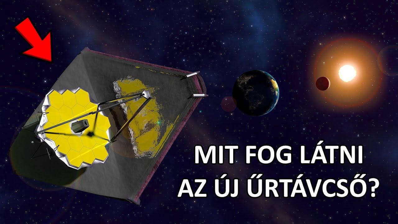 2021 EGYIK LEGJOBBAN VÁRT UNIVERZUMOS ESEMÉNYE (James Webb Űrtávcső)