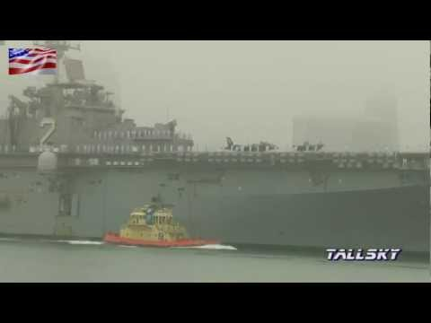 US Navy: USS Essex (LHD-2) 2012 Homecoming - Welcome Home (Bonhomme Richard Crew) music version