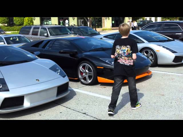 Dallas Lamborghini Cruise Diablo Vttt Countach Murcielago Youtube