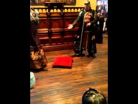 Sir Adrian the Adamenator gets knighted