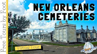 New Orleans Cemeteries | A Virtual Metairie Cemetery Walking Tour