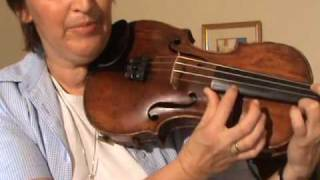 learn beginners violin online free video 1 play your first tune