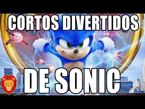 CORTOS DIVERTIDOS DE SONIC #19 *MUCHO MIEDO* 😱😰   VIDEOREACCION ANIMACION PARODIA LEON PICARON