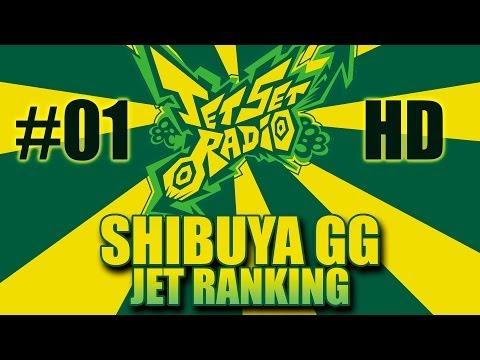 #01 SHIBUYA GG (SHIBUYA-CHO) | Jet Ranking | Modo HISTORIA | Jet Set Radio HD