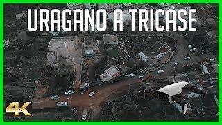 Tornado a Tricase. Riprese dall'alto in 4K
