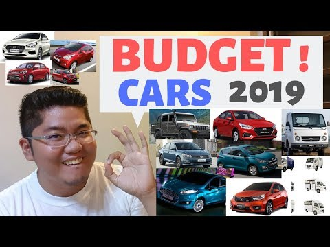 Budget Cars in the Philippines 2019