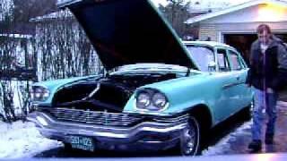1957 Chrysler Windsor Cold start