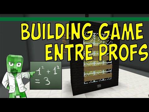 Building game avec les profs - ZEPROF2BIO FAIT LA LESSIVE