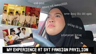 VLOG #30 : The Series of Unfortunate Events | SEVENTEEN Fan Signing  @ Pavilion