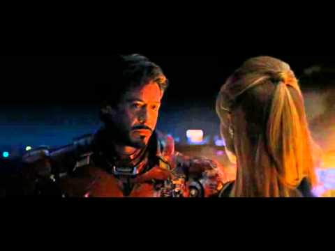 Iron Man 2 - Tony kisses Pepper