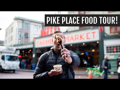Pike Place Market Food Tour: The Best Chowder, Mac & Cheese, And Flying Fish!