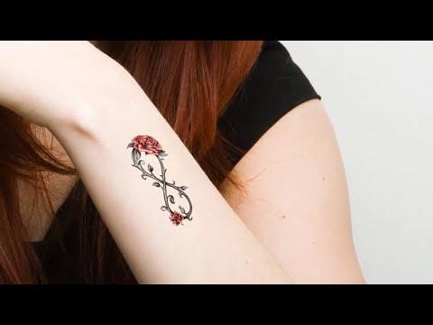 Tatuajes De Infinito Originales Para Mujeres Y Hombres Youtube