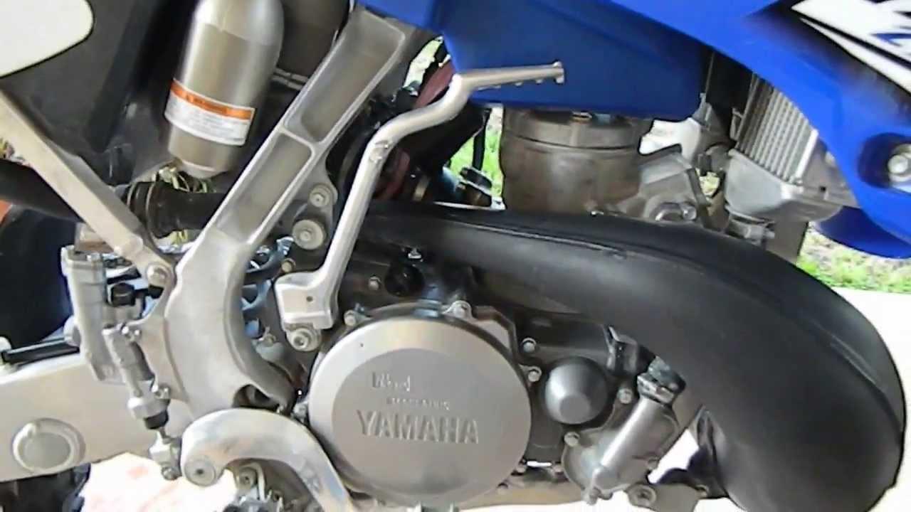 2011 Yamaha Yz250 Start-up
