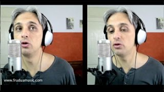 How to sing I Will Beatles Cover Vocal Harmony Lesson Tutorial