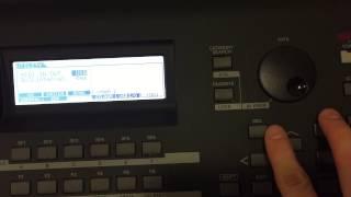 MOXF USB/MIDI Setting
