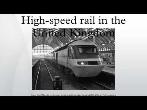 High-speed rail in the United Kingdom
