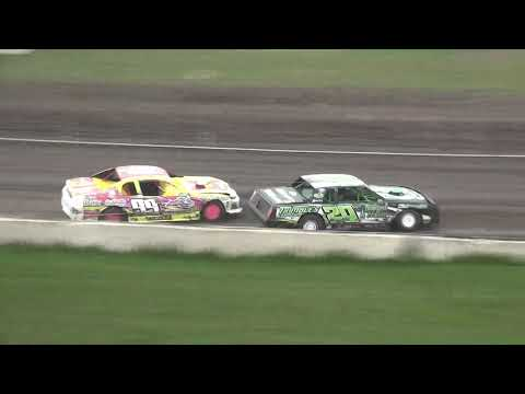 IMCA Stock Car Heat 1 Benton County Speedway 7/21/19