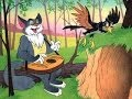 кот дрозд и петушок