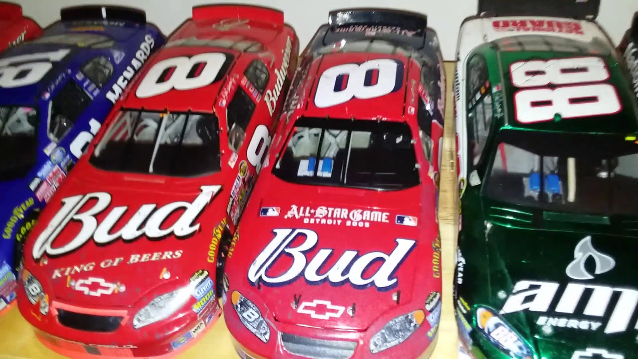 Download NASCAR Diecast collection video! Part 1