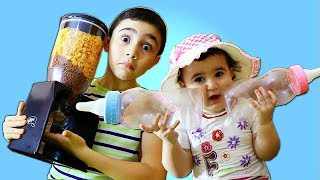 Celina Takes Hasouna's Food -  سيلينا تاكل أكل حسونة