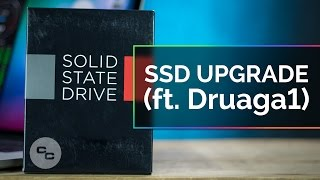 SSD Upgrade - 512 GB SanDisk (ft.  Druaga1) - Krazy Ken's Tech Misadventures