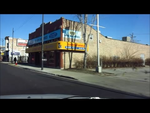 CHICAGO SOUTH SIDE  / 69TH ST & ML KING / O BLOCK HOOD