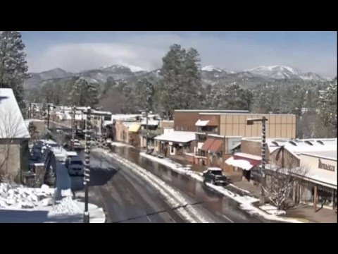 Ruidoso, New Mexico December 13 2015 Snow